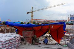 Day 42, Exchange, Construction Site, Suggestions, Concept, New District, Diamond Island, Koh Pich, Phnom Penh, Cambodia
