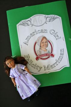 American Girl Unit Study, Felicity: CCM: Gamma Year: Weeks 11 and 12: History (Catholic Missionary Family)