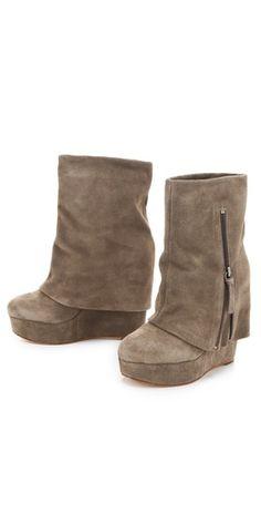 alice + olivia Yeardley Zip Cuff Boots |