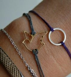 Charms with string