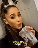"""""""are you looking forward to classes"""" *got asked during breakfast Ariana Grande Bangs, Ariana Grande Gif, Ariana Grande Photos, Adriana Grande, Grandes Photos, Ariana Tour, Bae, Dangerous Woman, She Song"""