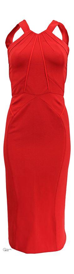 Zac Posen Low Back Halter Dress