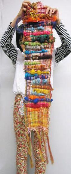 手織適塾さをり 横浜通信 -さをり織り情報ブログ |親子で体験!色の魔法♪