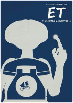 E.T. by CultPoster