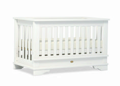 Boori Grande Eton Corvertible Plus Cot. A Cot that converts into a a full size double when purchase together with a bed extension kit.