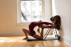 Carrie Owerko - Eka Pada Rajakapotasana YogaCity NYC | One Pose—Three Ways
