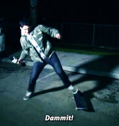 """That time Tyler Posey was just as bad at life as you. 