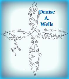 Hope Faith Love Believe infinity cross tattoo by Denise A. Wells | Flickr - Photo Sharing!