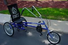 Trailmate Meteor Recumbent Trike is a pure joy to ride this recreational adult tricycle is available in three or twenty one speeds Tricycle Bike, Adult Tricycle, Trike Bicycle, Cruiser Motorcycle, Recumbent Bicycle, Classic Harley Davidson, Used Harley Davidson, Harley Davidson Chopper, Harley Davidson Motorcycles