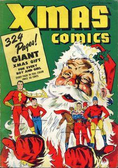Cover for Xmas Comics (Fawcett, 1941 series) #1