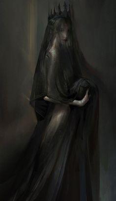 Everything mythology has recorded about Persephone is wrong. She is as shrouded . - Everything mythology has recorded about Persephone is wrong. She is as shrouded … – - Horror Art, Dark Aesthetic, Character Art, Fantasy Art, Art, Dark Photography, Dark Art, Gothic Art, Dark Fantasy Art
