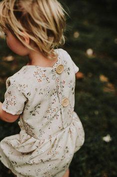 Handmade Floral Linen Dress   MiyaAndMa on Etsy