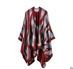 Apparel Accessories Official Website Womens Bohemian Tassel Rhombus Scarf Cloak Long Poncho Cape Outwear Coat Shawl