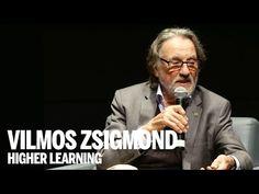 Vilmos Zsigmond, the Academy Award-winning cinematographer Film Studies, Higher Learning, Film Inspiration, Film School, Martin Scorsese, I Need To Know, Video Film, Director, Great Videos
