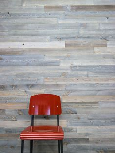 This line of wood paneling from Viridian is made from reclaimed shipping containers. http://www.architects-toybox.com/2015/12/14/northwind-paneling-by-viridian-reclaimed-wood/