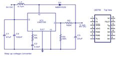Electronics Components, Electrical Components, Voltage Converter