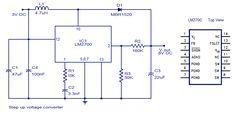 Electronics Components, Electrical Components, Voltage Converter