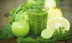 Tres batidos verdes adelgazantes y muy saludables.