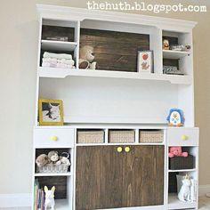 DIY Baby Changing Station Tutorial
