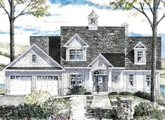 Cape Cod Cottage Craftsman House Plan 80314