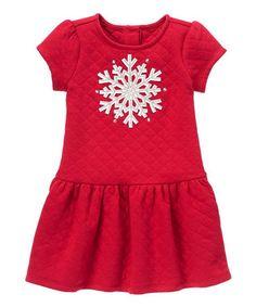 24f91c0794549 Gymboree Green   Deep Pink Floral Angel-Sleeve Dress - Infant   Toddler