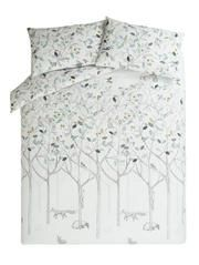 George Home Woodland Print Duvet Set