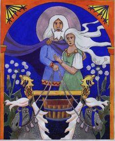 mundilfari god of time | The Northern Sky : Working With Mani