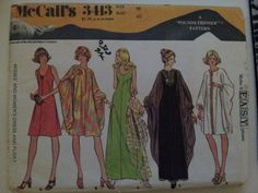 McCalls Pattern 3413 size 18 uncut by KalimahsKreationsLLC on Etsy