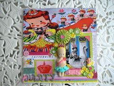 Party Time Scrapbook Layout