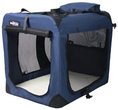 EliteField 3-Door Folding Soft Dog Crate, Indoor and Outdoor Pet Home, Multiple Sizes and Colors Available >>> Remarkable product available now. : Crates, Houses and Pens for dogs