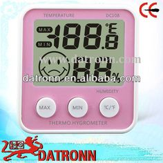 Digital thermometer hygrometer DC108