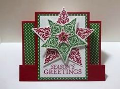 Peanuts and Peppers Papercrafting: Saturday Share - Stampin' Up! Bright and Beautiful Christmas Card (The Holiday Catalog Is Live!)