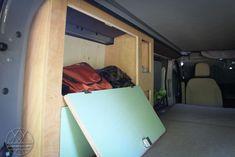Vw Bus, Sprinter Camper, Storage, Life, Decor, Bus Remodel, Van Life, Purse Storage, Decoration