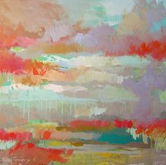 LOVE. landscape paintings - paintings by erin fitzhugh gregory