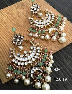 To Order Please Message or WhatsApp at Accesories - Accesories jewelry - Accesories ba Indian Jewelry Earrings, Indian Jewelry Sets, Jewelry Design Earrings, Indian Wedding Jewelry, Bridal Jewelry, Bridal Accessories, Jewelery, Indian Bridal, Silver Earrings