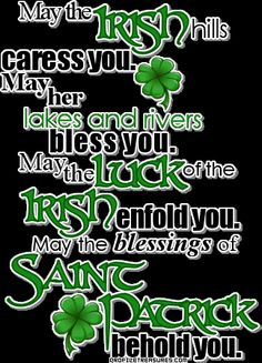 Happy St. Patricks day my family and friends!