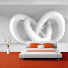 Papier peint intissé 400x280 cm - Top vente ! Papier peint ! Tableaux muraux déco XXL ! abstraction 3D f-A-0097-a-b - 3 couleurs ? choisir: Amazon.fr: Cuisine & Maison