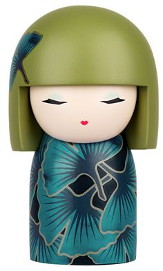 """Kimmidoll™ Chiyoko - 'Youthful Spirit' - """"My spirit is full of energy and fun. With your boundless enthusiasm and playful sense of fun, you know the secret that keeps my spirit young. No matter how many years come and go, may your youthful spirit always show."""""""
