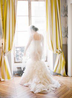 The perfect dresses for a ballroom wedding: http://www.stylemepretty.com/2016/02/15/wedding-dress-venue-tips/