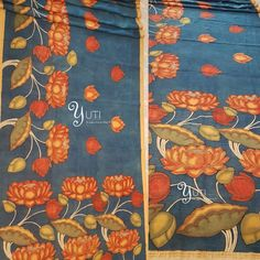 Kalamkari Sarees and outfits customized at YUTI. An ancient art penned with hand and painted with natural dyes! Get your piece of art custom made in the design and colour of your choice. Please note It is a time taking process, any order placed would take a minimum of one month to be delivered. To Customize your Kalamkari reach us at 044-42179088 / Whatsapp: 9789903599. Address: Valmiki street, Thiruvanmyur, Chennai. #kalamkari #yutidesignerhouse #yuti #yutiforbridesmaids #yutiforbrides…