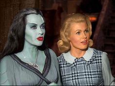 Lily and Marylyn Munster