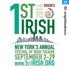 Origin's NY's Annual Festival of Irish Theater.  Seamus Scanlon's The MCGOWAN TRILOGY is one of the features. http://1stirish.org/