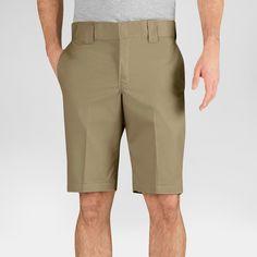 Dickies Men's Slim Fit Flex Twill 11 Short- Desert Sand 29