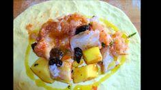 Calzone ripieno di baccalà e patate