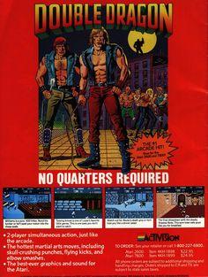 Double Dragon (Atari 2600, Atari 7800)