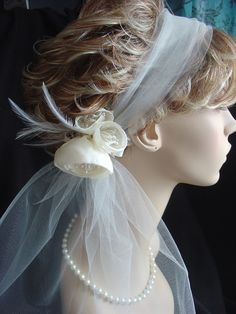 RetroTulle Headband with Small Cabbage by FascinatingCreations, $62.95