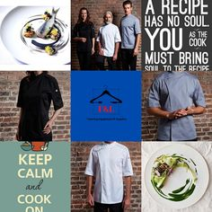 F&L Catering Suppliers where the chef is always right. The number one place for unique chef attire with attitude. High quality and delivered straight to your door. Long sleeve, short sleeve chef jacket. Mens, Womens, & Unisex Chef jackets, Chef trousers, chef hats & aprons. New fashion chef jackets for best chefs in 2020. Chef Hats, Catering Equipment, Best Chef, Aprons, Chefs, New Fashion, Chef Jackets, Attitude, Trousers