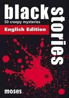 Black Stories Engelse Editie.