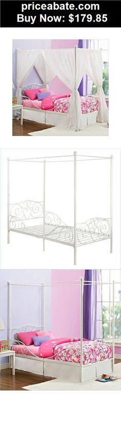 www.target.com p canopy-metal-bed-twin-white-dhp - A-16686777?lnk ...