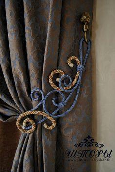 Heavy curtain, beautiful